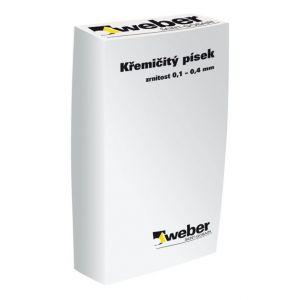 weber.křemičitý písek 25kg (bílá)