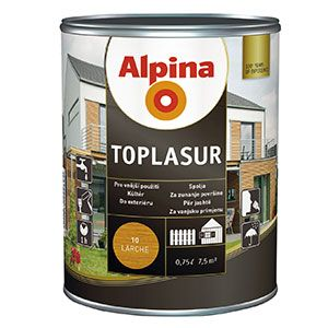 Alpina Toplasur 10 Larche - modřín 0,75L