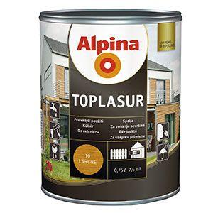 Alpina Toplasur 80 Ebenholz - eben 0,75L