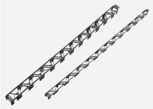 Distanční plastová lišta DUALFIX délka 30mm/2m