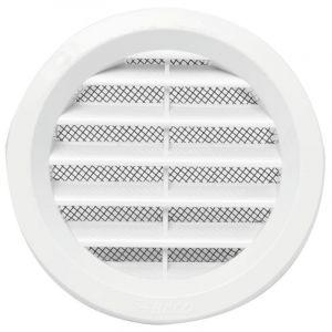 HACO větrací mřížka kruhová uzavíratelná 125 BÍLÁ