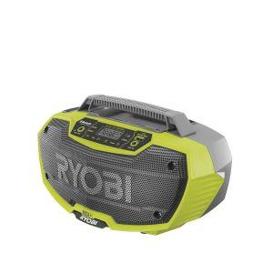 RYOBIi R18RH-0 Rádio s bluetooth ONE+ 18V, USB, bez aku a nabíječky