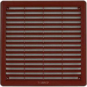 HACO větrací mřížka se síť. 200x200 HNĚDÁ Krytka
