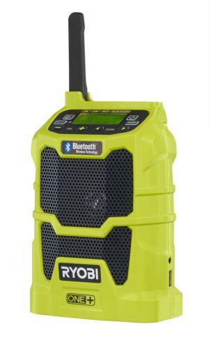 RYOBI R18R-0 Aku rádio s bluetooth ONE+, 3W, USB, bez aku a nabíječky