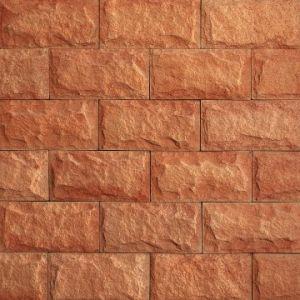 Betonový obklad VASPO Pískovec verze 4, Cihlový