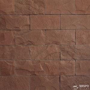Betonový obklad VASPO Břidlice standard HNĚDÁ