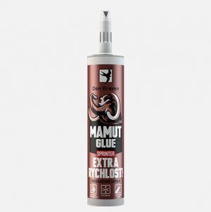 Dvousložkový lepící tmel mamut GLUE SPRINTER 280ml šedá