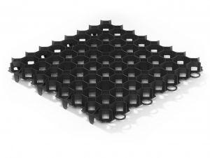 Zatravňovací tvárnice Guttagarden 50x50cm černá