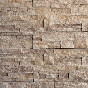 Betonový obklad VASPO Kamen lámaný BÉŽOVOHNĚDÝ