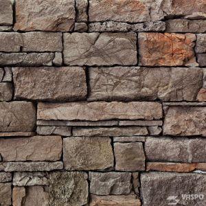 Betonový obklad VASPO Kámen srubový HNĚDÝ