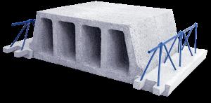 Betonový stropní stavební systém PRESCOT