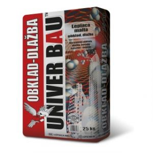 Cementový lepící tmel UNIVERBAU obklad, dlažba 25kg