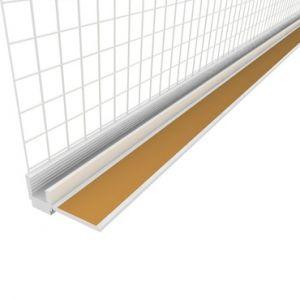Začišťovací okenní profil s tkaninou APU lišta 6mm/2,4m