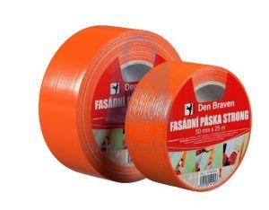 Malířská fasádní páska STRONG oranžová 50mmx50m