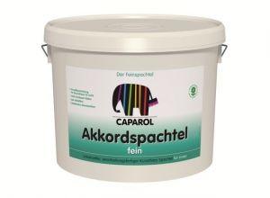 Vyrovnávací tmel na opravy CAPAROL Akkordspachtel tmel jemný 25kg