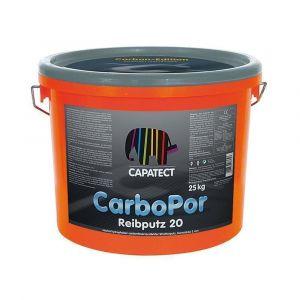 Silikonová omítka s uhlíkovým vláknem CAPAROL Carbopor Putz 15 25kg