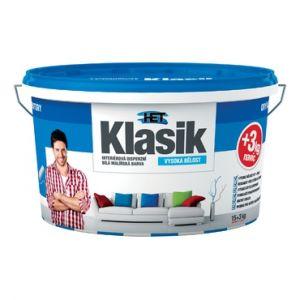 Interiérová disperzní barva HET KLASIK 15+3kg