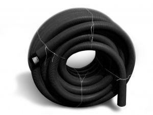 Polyethylenová drenážní trubka (flexibilní) DN 80 černá