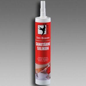 Acetátový sanitární silikonový tmel RL 310ml transparent