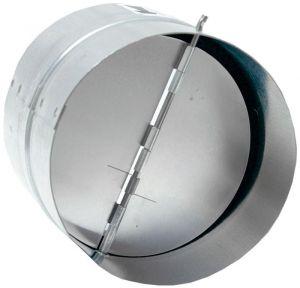 HACO klapka zpětná kovová ZKK 125
