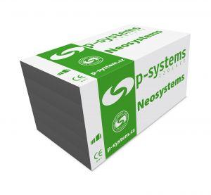 fasádní polystyren šedý P-SYSTEMS NEO 100F /různé tloušťky/