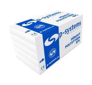 podlahový polystyren bílý P-SYSTEMS EPS 200S /různé tloušťky/