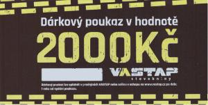 VASTAP DÁRKOVÝ POUKAZ 2.000,- Kč