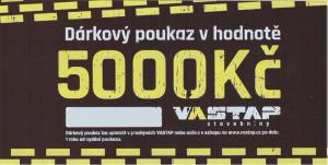 VASTAP DÁRKOVÝ POUKAZ 5.000,- Kč