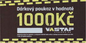VASTAP DÁRKOVÝ POUKAZ 1.000,- Kč