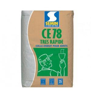 Rychleschnoucí základní tmel pro sádrokarton SEMIN CE 78 TRES RAPIDE 25kg
