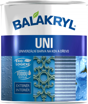 BALAKRYL UNI mat 0,7kg 0100 bílý