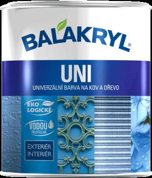 BALAKRYL UNI mat 2,5kg 0100 bílý