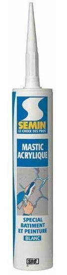 akrylový tmel SEMIN MASTIC AKRYLIQUE 310ml