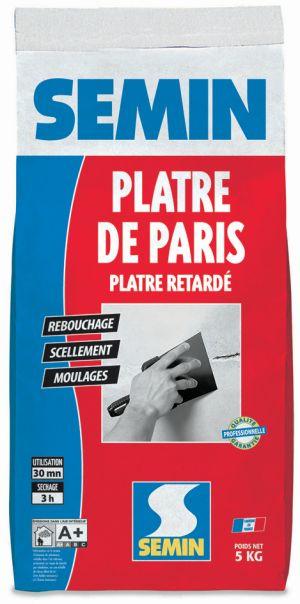 montážní elektrikářská sádra SEMIN PLATE DE PARIS 5kg