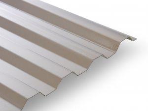 GUTTA Polykarbonátová trapézová deska Guttagliss Makro ST  (4000x1060mm – 4,24m2/bal) BRONZ