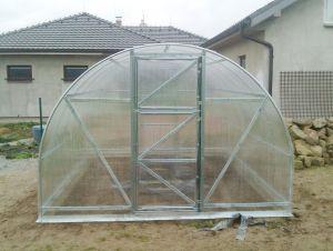GUTTA Zahradní skleník z polykarbonátu Econom 6x3 m