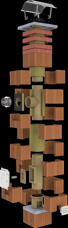 Komínový systém CIKO 3V UNIVERSAL