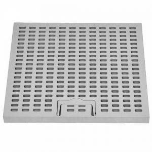 ITADECO Mříž s madlem A15 200x200mm