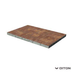 Skladebná betonová dlažba DITON Kombi 6 - TERRA