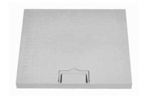 ITADECO Poklop s madlem A15 200x200mm