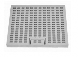 ITADECO Mříž z PP s madlem A15 300x300mm