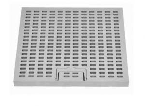 ITADECO Mříž z PP s madlem A15 400x400mm