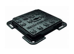ITADECO Litinový poklop s rámem C250 300x300mm