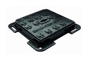 ITADECO Litinový poklop s rámem C250 400x400mm