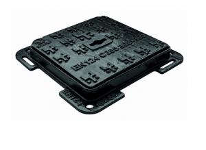ITADECO Litinový poklop s rámem 550x550mm