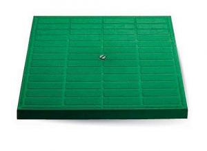 ITADECO Poklop pochůzný zelený 300x300mm