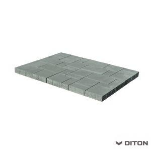 Skladebná betonová dlažba DITON Kombi 6 - PŘÍRODNÍ