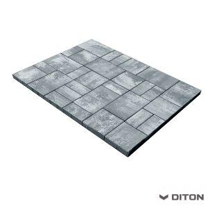 Skladebná betonová dlažba DITON Kombi 8 - MARMO
