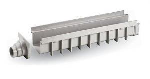 """ITADECO Odvodňovací žlab ,,SPECIÁL"""" šedý 130x500mm H100mm"""