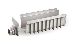 """ITADECO Odvodňovací žlab ,,SPECIÁL"""" šedý 200x500mm H185mm"""